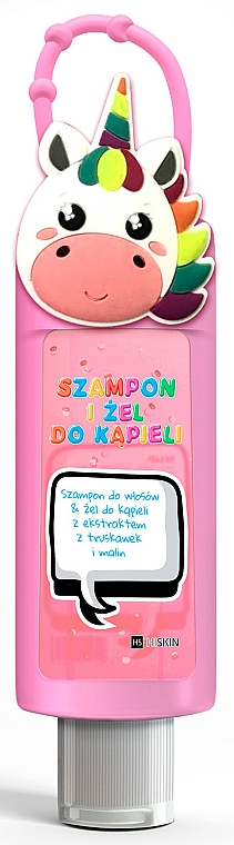 2in1 Shampoo-Duschgel für Kinder mit Erdbeere - HiSkin Kids — Bild N1