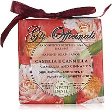 Düfte, Parfümerie und Kosmetik Naturseife Camelia & Cinnamon - Nesti Dante Purifying & Softening Soap Gli Officinali Collection
