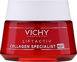Nachtcreme für das Gesicht mit Kollagen - Vichy LiftActiv Collagen Specialist Night — Bild N1