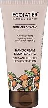 Düfte, Parfümerie und Kosmetik Handcreme mit Arganöl - Ecolatier Organic Argana Deep Reviving Hand Cream