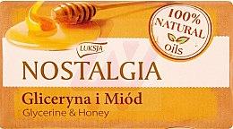 Düfte, Parfümerie und Kosmetik Seife Glycerin & Honig - Luksja Nostalgia Glycerin & Honey Soap