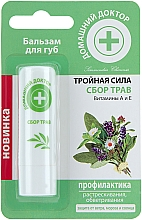 Düfte, Parfümerie und Kosmetik Lippenbalsam mit Kräutern - Hausarzt