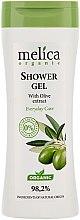 Düfte, Parfümerie und Kosmetik Duschgel mit Olivenextrakt - Melica Organic Shower Gel