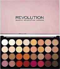 Düfte, Parfümerie und Kosmetik Lidschattenpalette - Makeup Revolution Ultra 32 Shade Palette Flawless 3 Resurrection