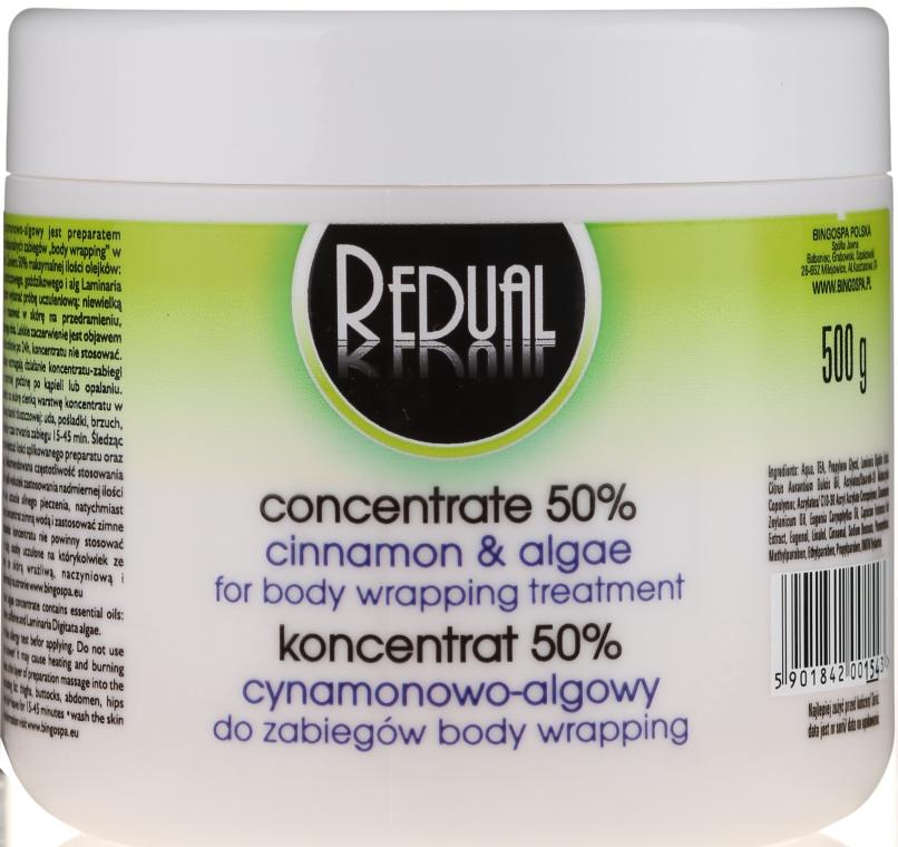 Körperkonzentrat 50% mit Zimt und Algen für Body Wrapping - BingoSpa