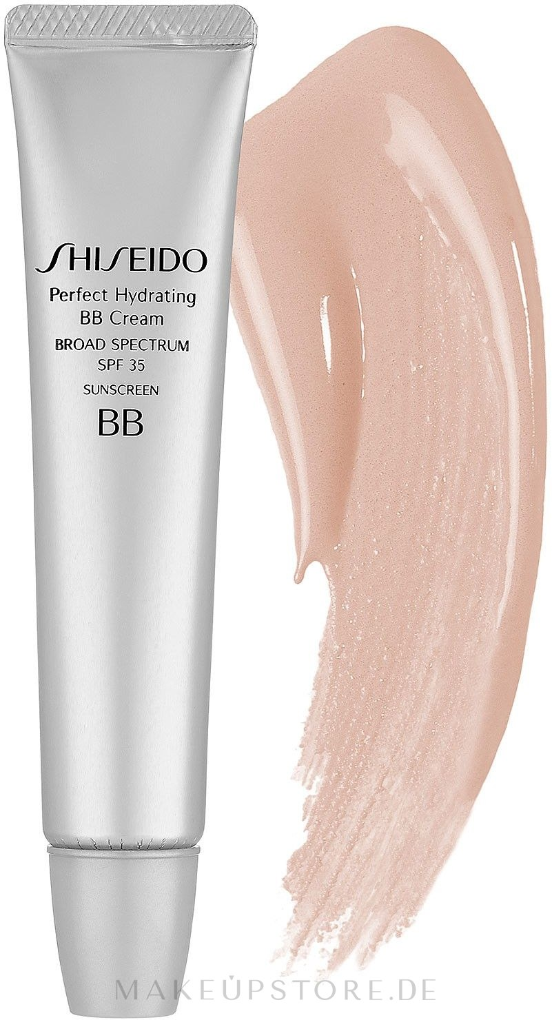 Feuchtigkeitsspendende BB Creme LSF 30 - Shiseido Perfect Hydrating BB Cream — Bild Medium Naturel