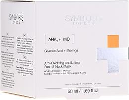 Düfte, Parfümerie und Kosmetik Antioxidative Gesichts- und Halsmaske mit Lifting-Effekt - Symbiosis London Anti-oxidising And Lifting Face & Neck Mask