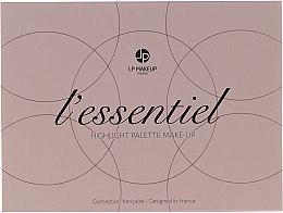 Düfte, Parfümerie und Kosmetik Highlighter-Palette - LP Makeup L'Essentiel Paper Highlight Palette