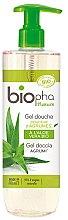 Düfte, Parfümerie und Kosmetik Duschgel mit Zitrone und Aloe Vera - Biopha Nature Gel Douche