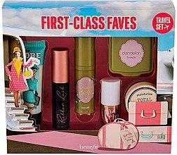 Düfte, Parfümerie und Kosmetik Gesichtspflegeset (Mascara 3g+Primer 7.5ml+Creme 8.9g+Rouge 5ml+Grundierung 4ml+Puder 3g) - Benefit First-Class Faves Set
