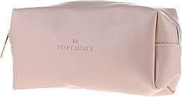 Düfte, Parfümerie und Kosmetik Lederkosmetiktasche beige 96945 - Top Choice