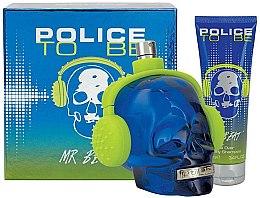 Düfte, Parfümerie und Kosmetik Police To Be Mr Beat - Duftset (Eau de Toilette 75ml + Duschgel 100ml)