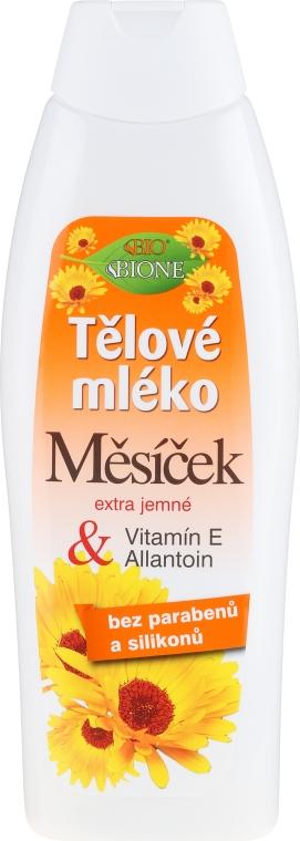 Körpermilch mit Ringelblume, Vitamin E und Allantoin - Bione Cosmetics Marigold Hydrating Body Lotion With Vitamin E and Allantoin