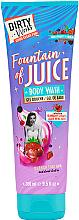 Düfte, Parfümerie und Kosmetik Duschgel mit Cranberry-Extrakt und Aloe Vera - Dirty Works Fountain of Juice Body Wash