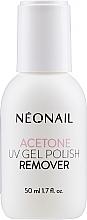 Düfte, Parfümerie und Kosmetik Kosmetisches Aceton zum Entfernen von künstlichen Nägel - NeoNail Professional Acetone UV Gel Polish Remover