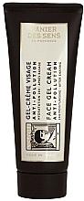 Düfte, Parfümerie und Kosmetik Leichte Anti-Pollution Gel-Creme nach der Rasur - Panier des Sens L'Olivier Anti-Pollution Face Gel Cream