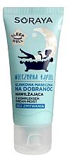 Düfte, Parfümerie und Kosmetik Feuchtigkeitsspendende Gesichtsmaske mit weißem Ton vor dem Schlafen - Soraya Sleep Well