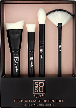 Make-up Pinselset 4-tlg. - Sosu by SJ The Detail Collection — Bild N1
