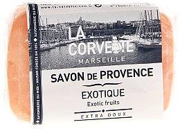 Düfte, Parfümerie und Kosmetik Seife Exotische Früchte - La Corvette Provence Soap Exotic Fruits