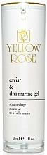 Düfte, Parfümerie und Kosmetik Anti-Aging und regenerierendes Gesichtsserum mit Kaviarextrakt und Marine DNA - Yellow Rose Caviar & Marine DNA Gel