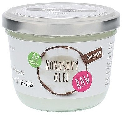 Körperbutter mit Bio-Kokosöl - Sefiros Organic Raw Coconut Oil — Bild N1