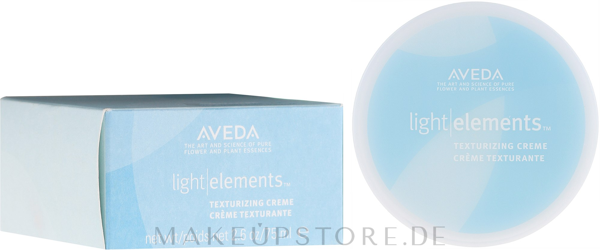 Texturierende Haarcreme mit Grapefruit, Ingwer und Geranie - Aveda Light Elements Texturizing Creme — Bild 75 ml