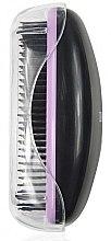 Entwirrbürste 1245 schwarz-lila - Donegal Hair Brush — Bild N1