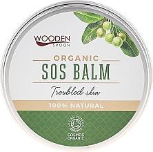 Düfte, Parfümerie und Kosmetik Bio SOS Körperbalsam mit Tamanu- und Lavendelöl - Wooden Spoon SOS Balm Trouble Skin