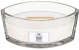 Düfte, Parfümerie und Kosmetik Duftkerze im Glas Magnolia - Woodwick Hearthwick Flame Ellipse Candle Magnolia