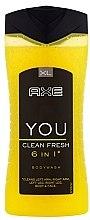 Düfte, Parfümerie und Kosmetik Duschgel - Axe You Clean Fresh Shower Gel