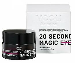 Düfte, Parfümerie und Kosmetik Regenerierendes Lifting-Serum für die Augenpartie mit Koffein, Peptiden und Hyaluronsäure - Veoli Botanica 20 Seconds Magic Eye Treatment