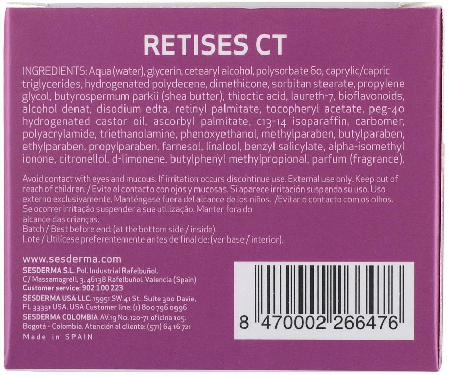 Feuchtigkeitsspendende Anti-Aging Gesichtscreme - SesDerma Laboratories Retises Ct Antiaging Moisturizing Cream — Bild N4