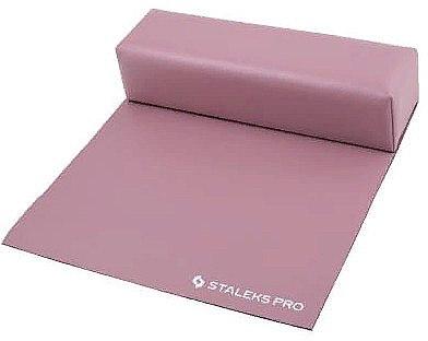 Maniküre-Handauflage mit Tuch Maxi rosa - Staleks Pro Expert 11 Type 1 — Bild N1
