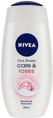 "Creme-Duschgel ""Milch & Rose"" - Nivea Bath Care Cream Shower Rose And Milk — Bild N1"