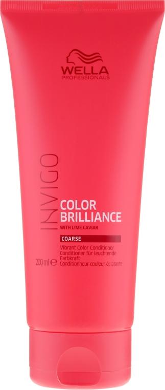 Haarspülung für coloriertes Haar - Wella Professionals Invigo Colour Brilliance Coarse Conditioner — Bild N1