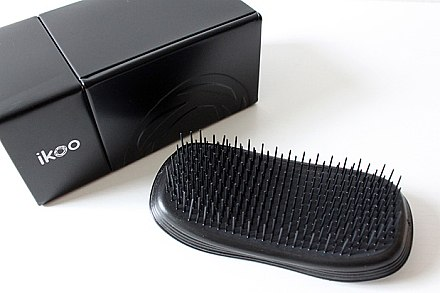 Haarbürste - Ikoo Home Black Brush — Bild N4