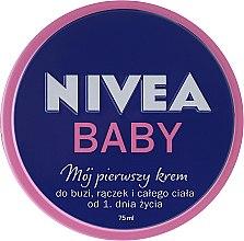 Düfte, Parfümerie und Kosmetik Babycreme mit Vitamin C - Nivea Baby My First Cream