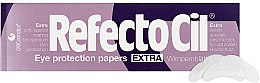 Düfte, Parfümerie und Kosmetik Hautschützende extra weiche Wimpernblätter 80 St. - RefectoCil Eye Protection Papers Extra