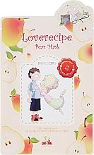Düfte, Parfümerie und Kosmetik Cellulose-Tuchmaske mit Birnenextrakt - Sally's Box Loverecipe Pear Mask