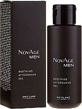 Düfte, Parfümerie und Kosmetik Beruhigendes After Shave Gel - Oriflame NovAge Men Soothing Aftershave Gel