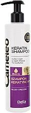 Düfte, Parfümerie und Kosmetik Keratin Shampoo für lockiges Haar - Delia Cameleo Shampoo