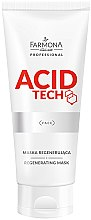 Düfte, Parfümerie und Kosmetik Regenerierende Gesichtsmaske - Farmona Professional Acid Tech Regenerating Mask
