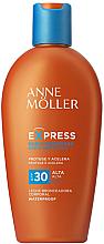 Düfte, Parfümerie und Kosmetik Selbstbräuner mit SPF 30 - Anne Moller Express Sunscreen Body Milk SPF30