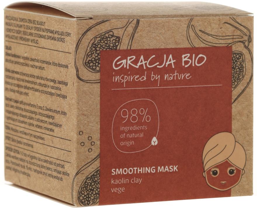 Glättende Gesichtsmaske mit Kaolin - Gracja Bio Smoothing Mask — Bild N1