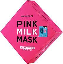 Düfte, Parfümerie und Kosmetik Aufhellende Tuchmaske für das Gesicht mit Milch - Duft & Doft Pink Milk Mask Tone Up+ Radiance