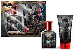 Düfte, Parfümerie und Kosmetik DC Comics Batman VS Superman - Duftset (Eau de Toilette 75ml + Duschgel 150ml)