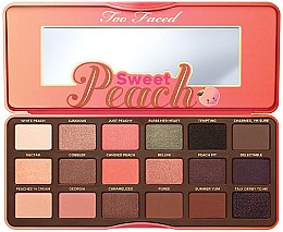 Düfte, Parfümerie und Kosmetik Lidschattenpalette - Too Faced Sweet Peach Eye Shadow Collection