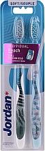 Düfte, Parfümerie und Kosmetik Zahnbürste Individual Reach weich 2 St. - Jordan Individual Reach Soft