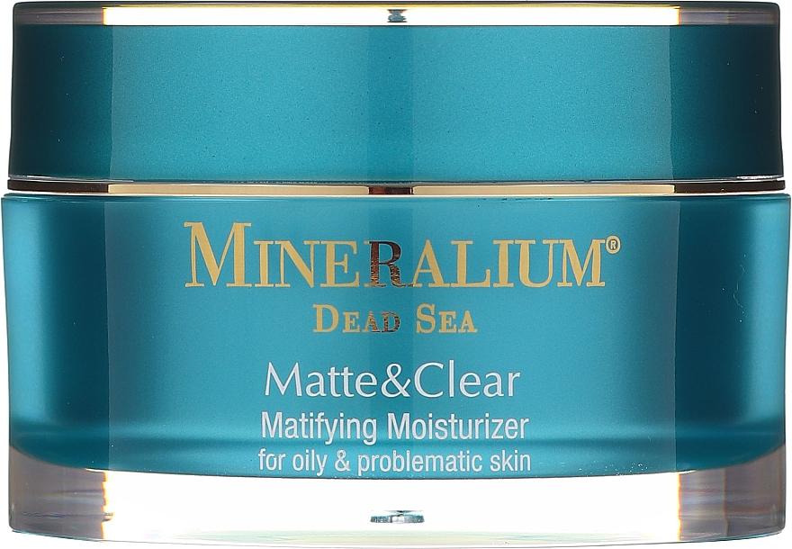 Mattierende und feuchtigkeitsspendende Gesichtscreme für fettige und delikate Haut - Mineralium Dead Sea Matte & Clear — Bild N3