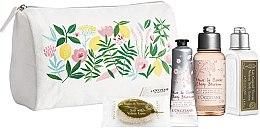 Düfte, Parfümerie und Kosmetik Körperpflegeset - L'Occitane (Handcreme 30ml + Duschgel 75ml + Körperlotion 75ml + Seife 25g)